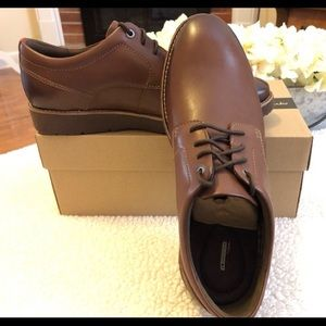 Clarks Men's Leather Shoes NWT's Size 10 1/2 M 